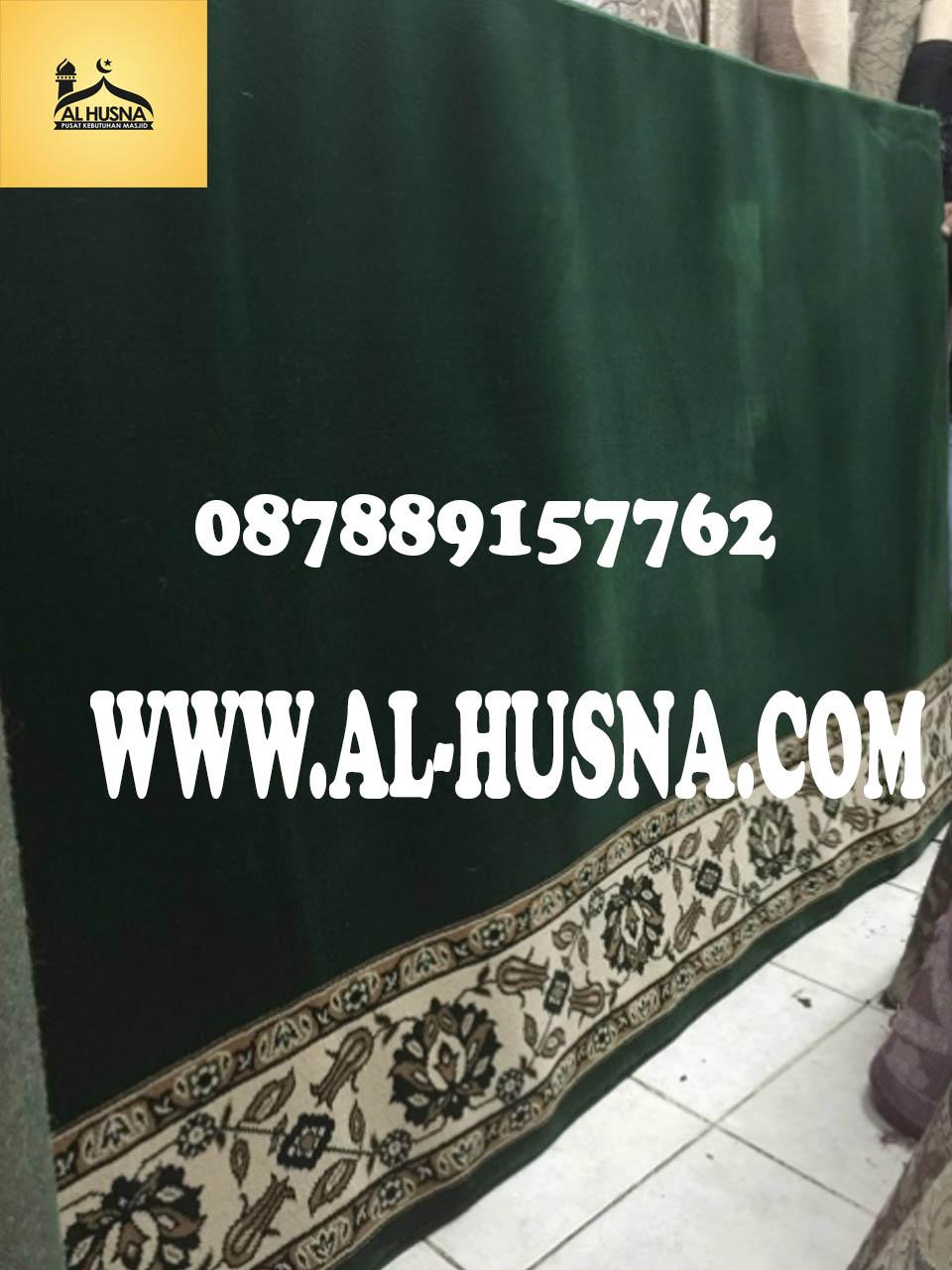 karpet masjid Al shola Hijau new tanpa harga