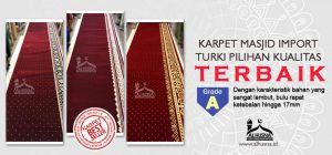jual karpet masjid di pulau seribu Jakarta