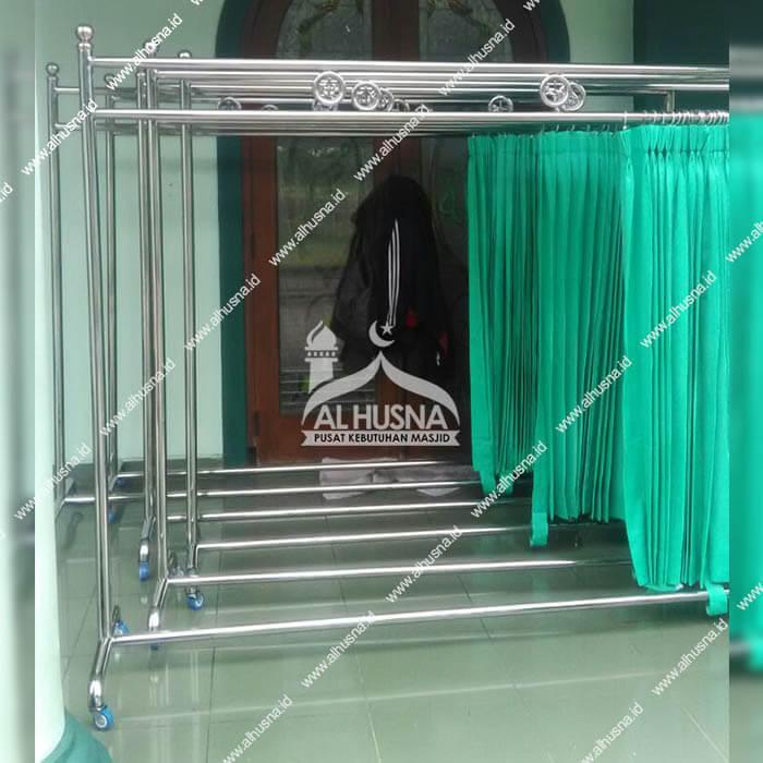 Jual pembatas masjid stainless steel tambun Bekasi timur
