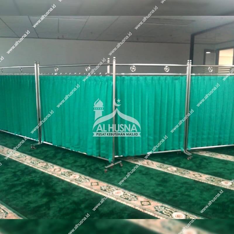 Jual Hijab Pembatas Masjid (1)
